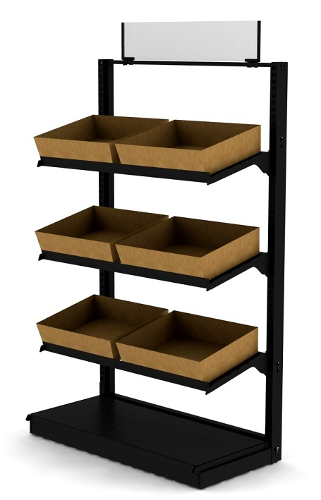 Basket Display Shelves