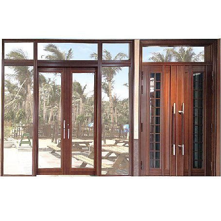 aluminium wood windows